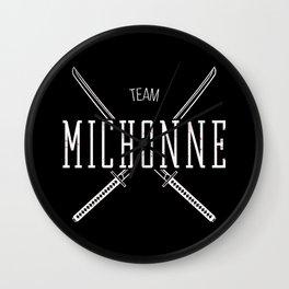 Team Michonne Wall Clock