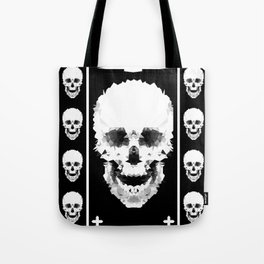 Black and white abstract pattern . Tote Bag