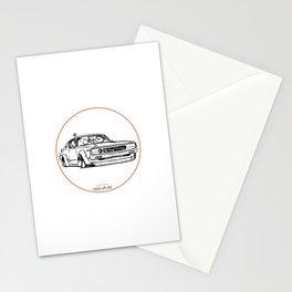 Crazy Car Art 0017 Stationery Cards