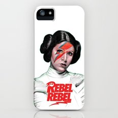 REBEL REBEL LEIA iPhone (5, 5s) Slim Case