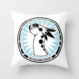 Shokugeki No Souma Logo Throw Pillow
