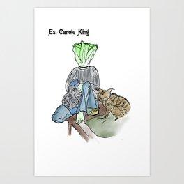 es-carole king Art Print