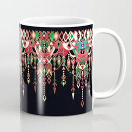 Modern Deco in Red and Black Coffee Mug