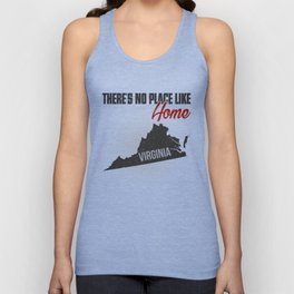 No place like home - Virginia Unisex Tank Top