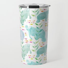 Lazy Manatees Travel Mug