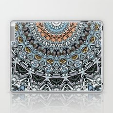 Intricate Circle of Abstract Shapes Laptop & iPad Skin