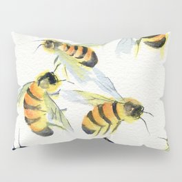 All About Bees Pillow Sham