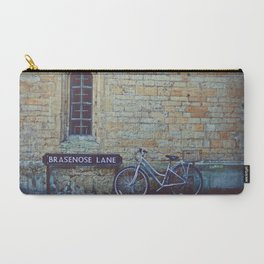 Bike, Wall and Window- Oxford, England Carry-All Pouch