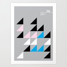14_Wingdings_y Art Print