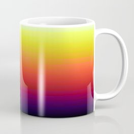 Rainbow Design Artwork Coffee Mug