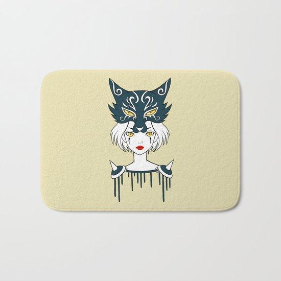 Wolf Tribe Bath Mat