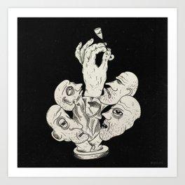 Extra glass Art Print