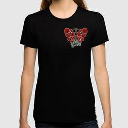 Rose Butterfly T-shirt