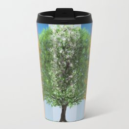 The seasons of the year in a tree Travel Mug