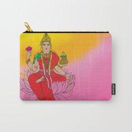 Laxmi Goddess Carry-All Pouch