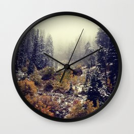 Autumnal Mists II Wall Clock