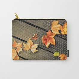 Trail of Leaves Carry-All Pouch
