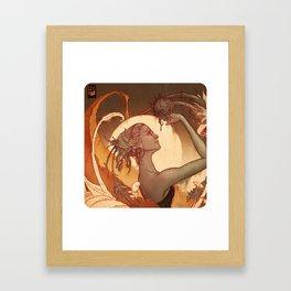 Titania Framed Art Print