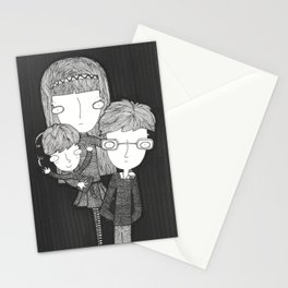 The Baudelaire orphans Stationery Cards