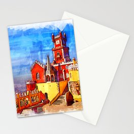 Pena Palace - Sintra, Portugal Stationery Cards