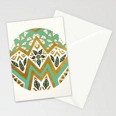 Golden Nature Mandala Stationery Cards