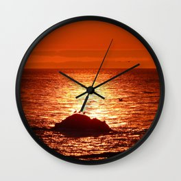 Time for Get-togethers Wall Clock