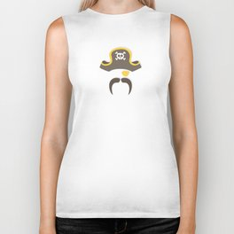 My little yellow gold Pirate Biker Tank