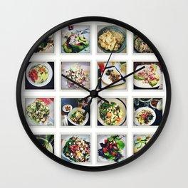 let's make a SALAD Wall Clock