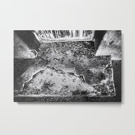 Slab Metal Print