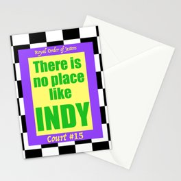 There Is No Place Like Indy, ROJ, Ct. #15 Stationery Cards