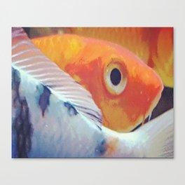 Fish Traffic Canvas Print