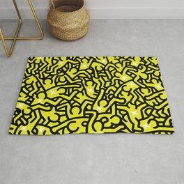 Keith Haring Variation #25 Rug
