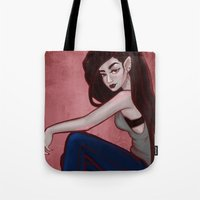 marceline Tote Bags featuring Marceline by Persefone