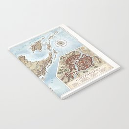 Belthennia - a map of its Independent Territories Notebook