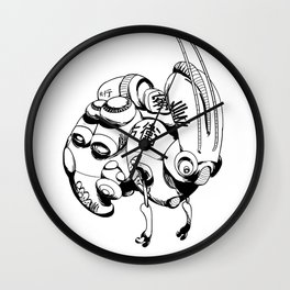Maintenance Droid Wall Clock