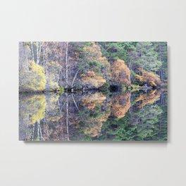 Loch Garten Colour Metal Print