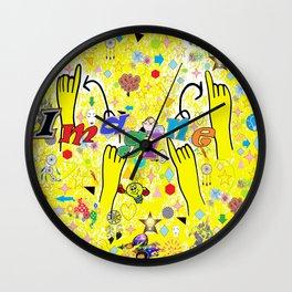 ASL Imagine Wall Clock