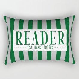Reader Est. Slytherin Rectangular Pillow