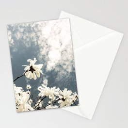 Flowers & Clouds Stationery Cards