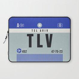 Luggage Tag A - TLV Tel Aviv Israel Laptop Sleeve