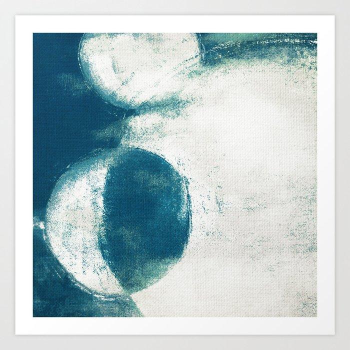 Lunar Division Art Print