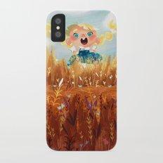 In The Fields Slim Case iPhone X