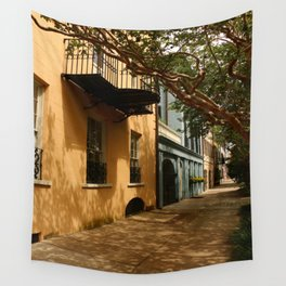Charming Charleston Street Wall Tapestry