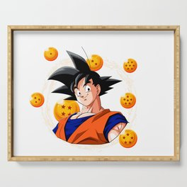 Goku Dragon Ball Super balls symbol Serving Tray