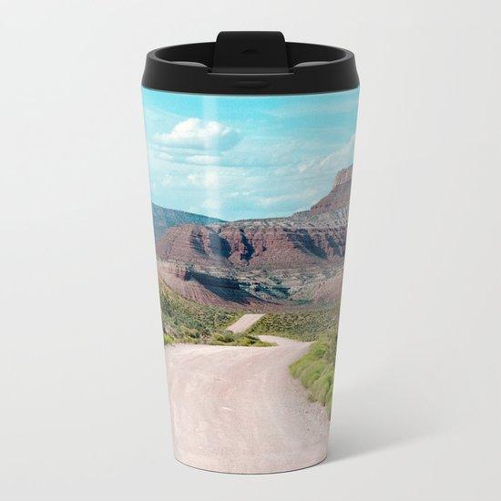 Dirt Road Home (La Verkin, Utah) Metal Travel Mug