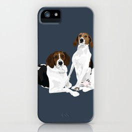 Nellie-Pearl-&-Lula-Mae iPhone Case
