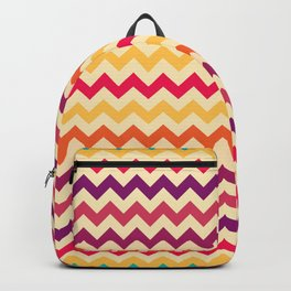 Colorful Chevron Pattern II Backpack