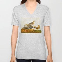 Black-bellied Plover Bird Unisex V-Neck