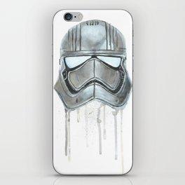 Captain Phasma - Empty Masks iPhone Skin