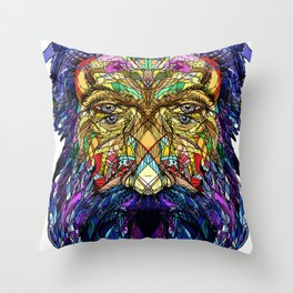 You're only given a little spark of madness Throw Pillow